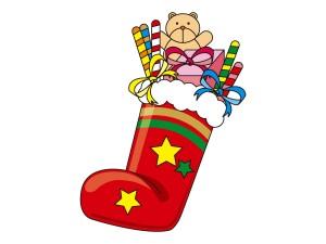 クリスマスブーツ 手作り