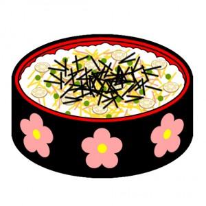 ちらし寿司,カロリー,塩分