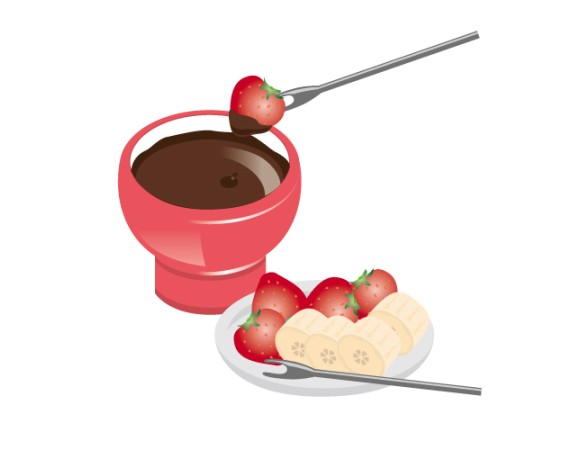 チョコフォンデュ☆簡単にできる作り方は?家庭でもできるの?