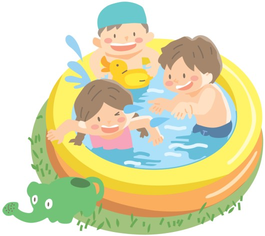 プール☆家庭用で人気のある商品はどのくらいの大きさのどんなもの?
