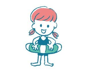 プールバッグ☆女の子で小学生向けのキャラクターやデザインは?