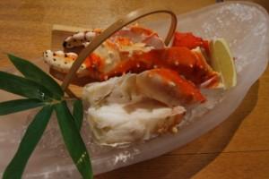タラバ蟹 解凍