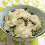 山菜おこわの炊飯器の水加減は?おいしく炊き上げるためのコツは?