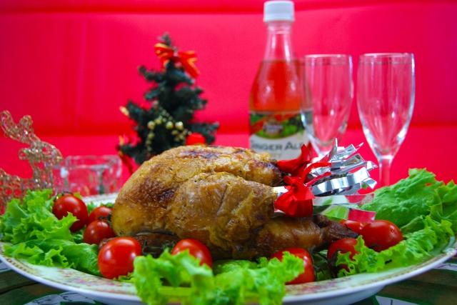 クリスマス☆チキンのオーブン料理で家庭でも簡単にできるものは?