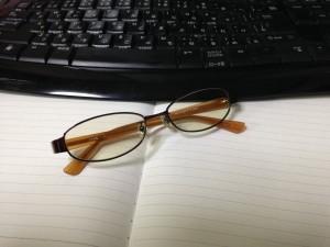 疲れ目 ブルーライト メガネ