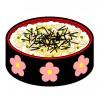 ちらし寿司☆カロリーと塩分はどれくらいあるお料理なのでしょう?