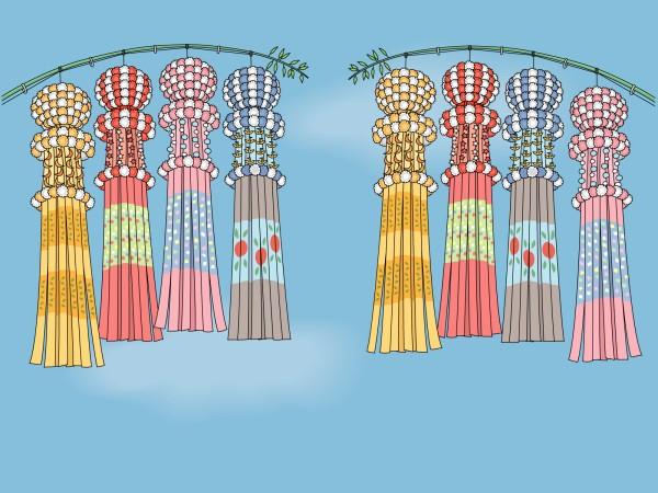 七夕祭り☆三大祭りはどこ?2015年はどんな感じで開催されるの?